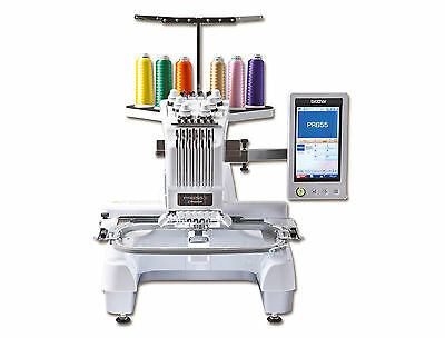 Demo Machine Brother PR655 ENTREPENEUR 6 Needle Embroidery - Sold As is. PR-655C
