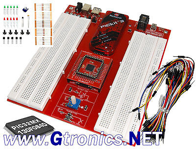 Starter Kit Pic Protoboard 32 Bit With Original Microchip Pickit3