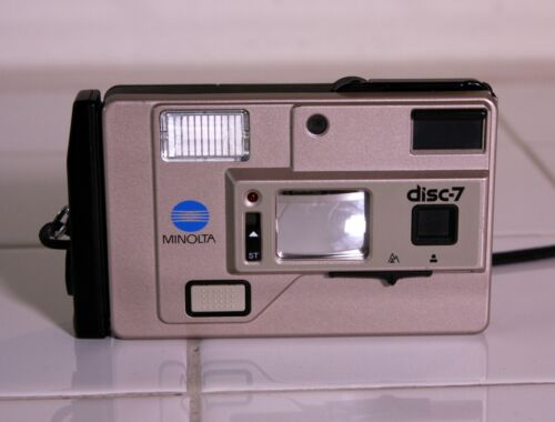 Vintage Minolta Disc-7 Digital Camera