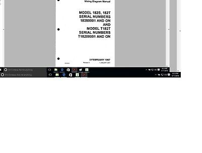 Cessna 182 wiring diagram electrical manual 182S 182T 182swd