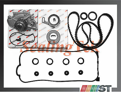 Honda 2.2L F22A F22B SOHC Engine Timing Belt Water Pump Kit w/ Gasket Seals Set
