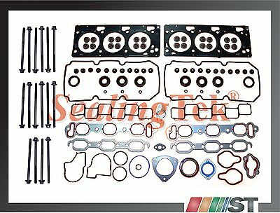 99-06 Chrysler 3.5L V6 Cylinder Head Gasket Set w/ Bolts kit EGG EGJ EGK engine