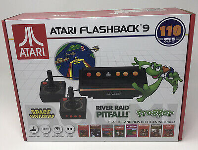 Atari Flashback 9 Classic Video Game Console 110 Built In Games Space Invaders