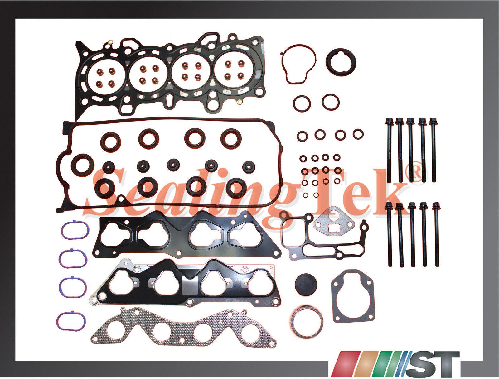 Fit 01-05 Honda 1.7L D17A Engine Cylinder Head Bolt Set 1.7EL D17A1 D17A2 motor