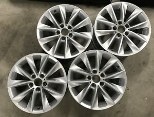 OEM BMW 18 inch wheels for X3 and X4