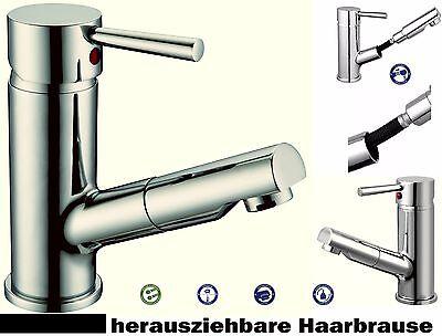 Waschtischarmatur Hoga ECO Merida Waschbecken Haar Hand brause Metallgriff chrom