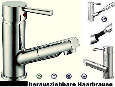 Waschtischarmatur Mixo Merida Waschbecken armatur Haar Hand Metall Brause Griff