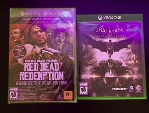 Red dead redemption et batman arkham night