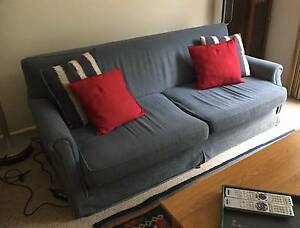 Sofa Bed/3 seater lounge - pick up only Beverly Hills Beverly Hills Hurstville Area Preview