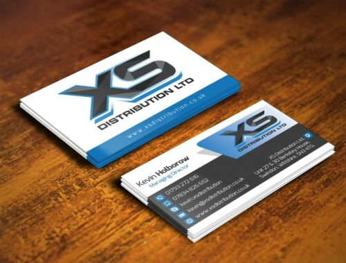 Design a professional, double sided Custom business card with unlimited revision