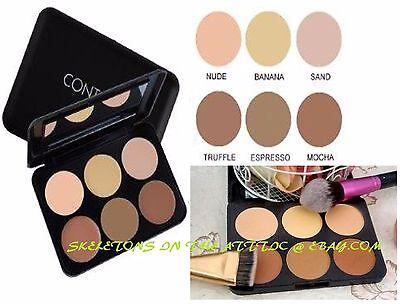 6 Color Contour Pressed Cheek Powder Makeup Blush Palette Set Nude Face Cosmetic