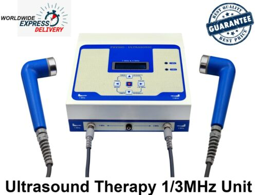 3MHz- 1MHz Ultrasound Therapy Machine Ultrasonic Chiropractic Pulse Therapy Unit