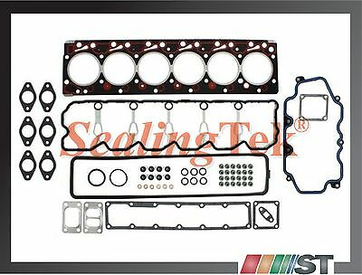 Fit 1998-02 Dodge Ram 5.9L Cummins Turbo Diesel Cylinder Head Gasket Set 6BTA5.9