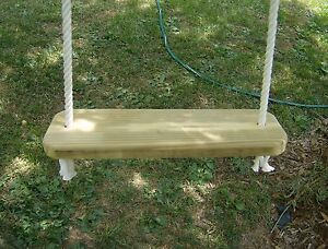 Wood tree swing and hanging kit Wood tree swing and hanging kit