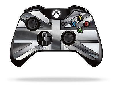 Silver Union Jack Xbox One Remote Controller/Gamepad Skin / Cover / Vinyl xb1r15