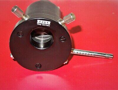 Zeiss Universal Pol Microscope Diaphragm Insert