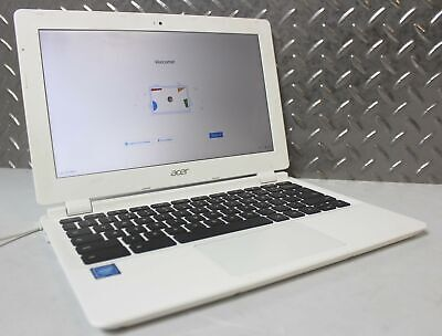 "ACER CHROMEBOOK 11 CB3-111-C8UB 11.6"" 16GB INTEL CELERON DUAL-CORE 2.16GHZ USED"