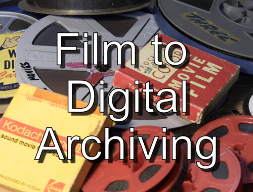 HOME MOVIE FILM TO DIGITAL - BEAT THE HOLIDAY RUSH -8mm and 16mm