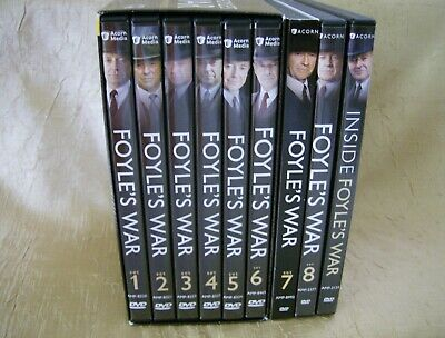 Foyle's War: The Complete Saga/Series 1 thru 8 Plus Bonus (DVD Sets) Acorn