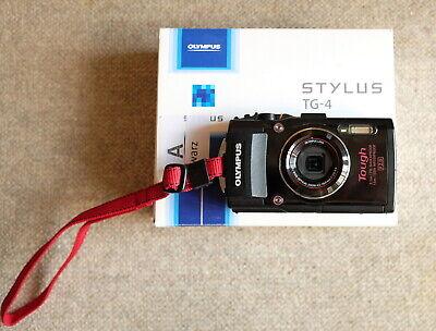 Olympus TG-4 Outdoor-Kamera 16MP 4fach optischer Zoom GPS