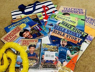 SonTreasure Island VBS Kit Sunday School Vacation Bible School Kit USE FOR 2021