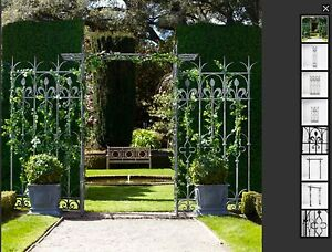 Wrought Iron Garden Trellis from Restoration Hardware USA Rose Bay Eastern Suburbs Preview