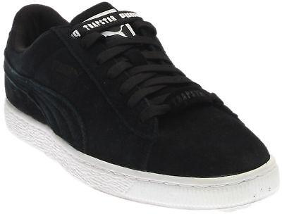Puma Trapstar Suede Sneakers- Black- - Puma Black Sneakers