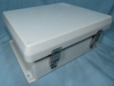 Vynckier Vj1210hwpl2 Fiberglass Non Metal Electrical Enclosure 12 X 10 X 5.0