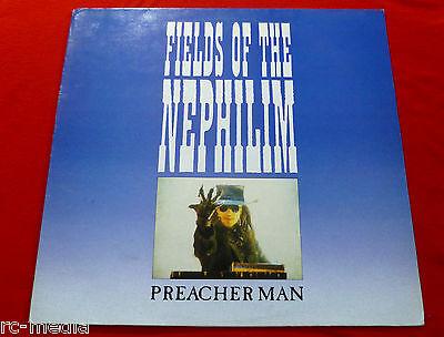 "FIELDS OF THE NEPHILIM - Preacher Man - Original UK 3 Track 12"" Vinyl"