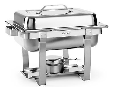 Chafing-Dish Brennpaste Speisewärmer Set 1/2 GN Hendi Gastro NEU Chafing Dish Set
