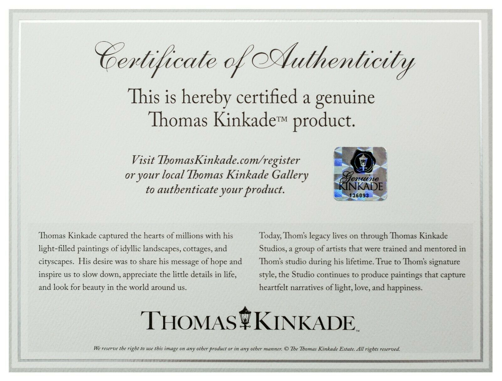 Thomas Kinkade Studios Superman Man of Steel 10 x 14 Gallery Wrap Canvas DC Art