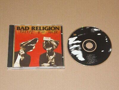 Bad Religion - Recipe For Hate, CD Album U.S.A. 1993 (86420) Vg+/Ex- Punk comprar usado  Enviando para Brazil