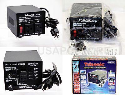 100w watt step up/down voltage converter transformer 110v to 220v adapter