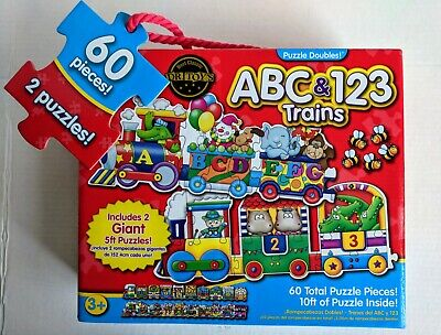 Puzzle Games For Toddlers Giant ABC 123 Train Floor Puzzles Learning Journey - Giant Alphabet Puzzle