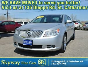 2012 Buick LaCrosse LEATHER   REMOTE START   HEATED SEATS