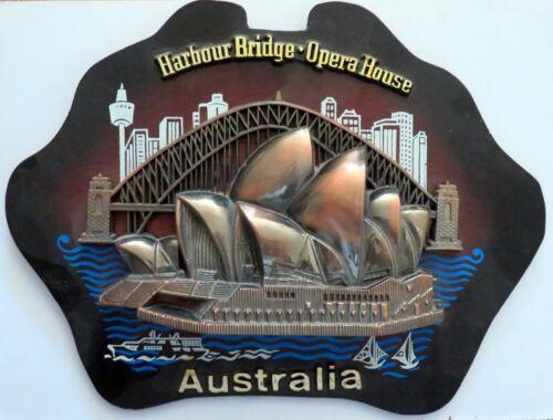 SYDNEY AUSTRALIA Harbour Bridge Opera House Plaque Wall Hanging