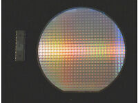 """Performance Semiconductor PR3400 CPU 6/"""" Silicon wafer DECSTATION 5000"""