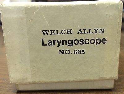 Welch Allyn Laryngoscope 635.