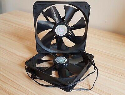 JAMICON 12V 0.25A 120mm x 120mm x 25mm Case//CPU 2-Ball Fan 80CFM Hi-Flow PC 3pin