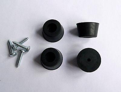 Medium Rubber Feet x 4 for Marshall Amplifier Cabinet guitar amp loudspeaker