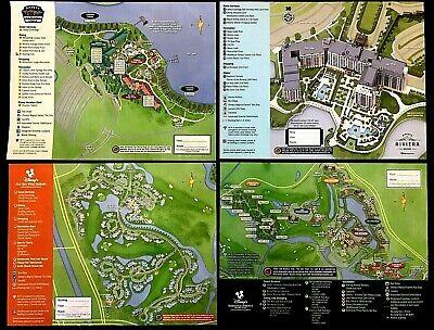 NEW 2020 Walt Disney World Resort Hotels- 18 Resort Maps + 7 Park Guide Maps !$