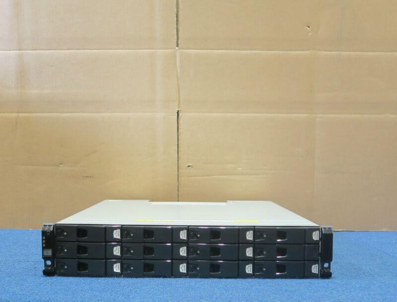Dell Compellent Series 30 HB-1235 12 Bay SAS Enclosure+ 12x2TB HDD 2x Controller