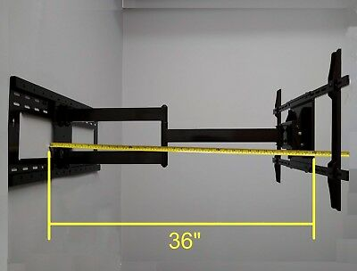 "36"" Extensive Arm Swivel TV Wall Mount for Samsung QLED QN65Q9FN 65"" LED TV"