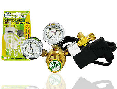 New   Basic Aquatek Co2 Regulator With Integrated Cool Touch Solenoid