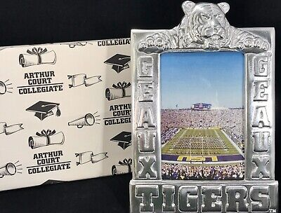 BRAND NEW ARTHUR COURT LSU GEAUX TIGERS 4x6 PICTURE FRAME AUTHORIZED RETAILER Lsu Framed Pictures