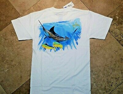50/% Off Guy Harvey Women/'s Close Call LS Tee Shirt--Pick Color-Free Shipping