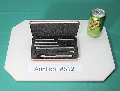 Used L.s. Starrett 823 Inside Micrometer 823a 823az Case Good Condition 812