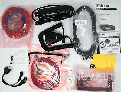 Ef Johnson 5300 Installation Kit Accessories Cables Brackets Microphonehead
