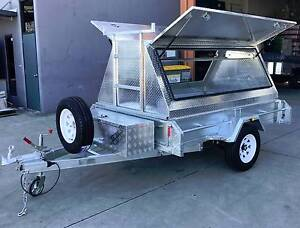 8x5 Trailer with Aluminum Tradesman Top Heavy Duty 1500kg ATM Underwood Logan Area Preview