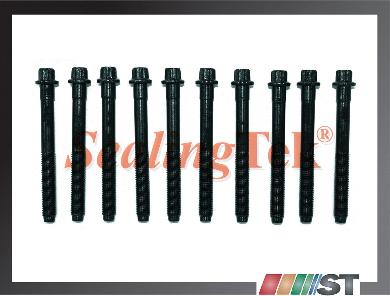 Fit Ford Mazda 2.0//2.3//2.5L Engine Cylinder Head Bolt Set Duratec MZR LFD motor